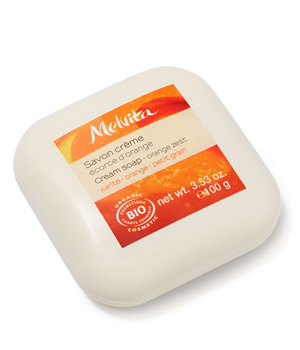 Savon Ecorce d'Orange - Melvita