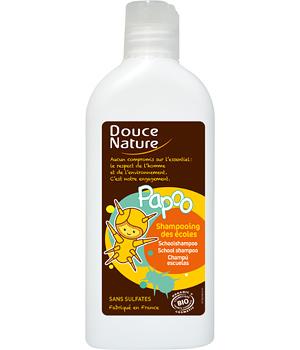Papoo - Shampooing des écoles Sans sulfates - Douce Nature