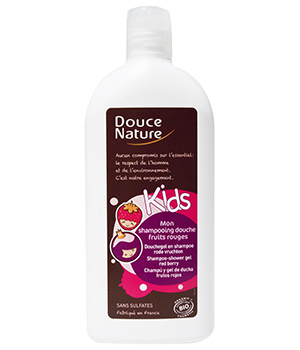 Shampooing douche Kids Fruits rouges - Douce Nature