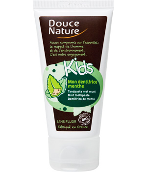 Dentifrice Menthe Kids sans fluor - Douce Nature