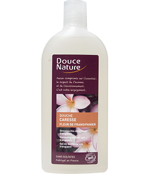 Douche caresse au Frangipanier 300 ml - Douce Nature