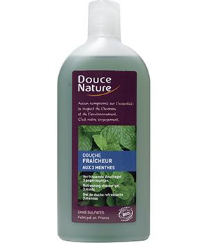 Douche fraicheur aux 3 Menthes 300 ml - Douce Nature