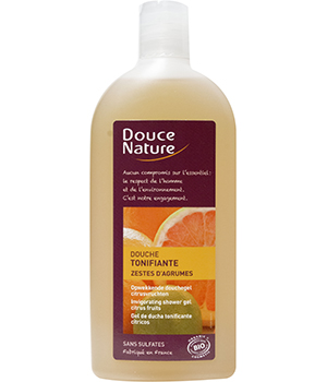 Douche tonifiante aux Zestes d'Agrumes 300 ml - Douce Nature