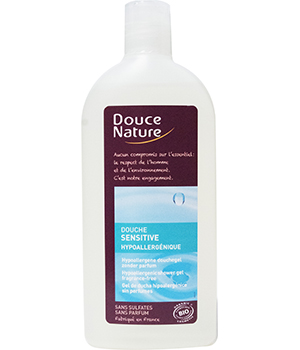 Douche sensitive hypoallergénique 300 ml - Douce Nature