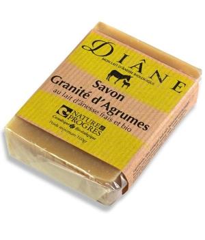 Savon au Lait frais d'Anesse GRANITE D AGRUMES - Diane