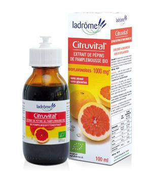 Extrait de Pépins de Pamplemousse CITRUVITAL 100 ml - Ladrôme
