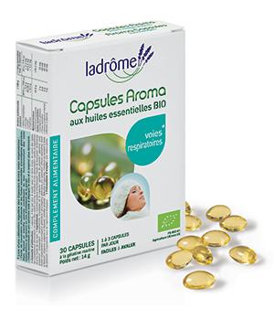 Capsules Aroma Voies Respiratoires - Ladrôme
