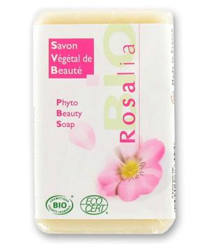 Savon végétal à l'huile de Rose Musquée du Chili - Rosalia