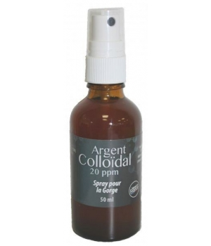 Srpay Gorge Argent Colloïdal 20 ppm - Dr.Theiss