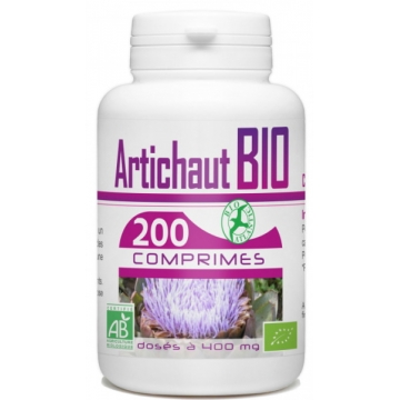 Artichaut bio 400mg 200 comprimés - GPH Diffusion