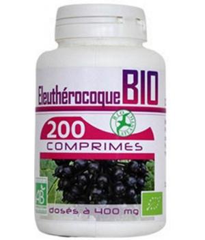 Eleuthérocoque bio 400mg 200 comprimés - GPH Diffusion
