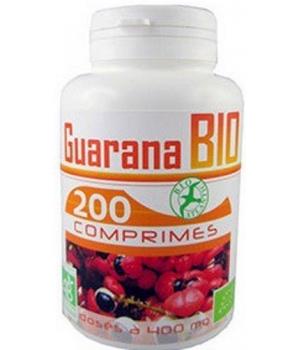 Guarana bio 400mg 200 comprimés - GPH Diffusion
