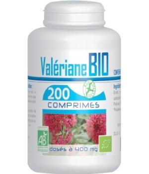 Valériane bio 400mg 200 comprimés - GPH Diffusion