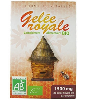 Gelée Royale bio 20 ampoules - GPH Diffusion