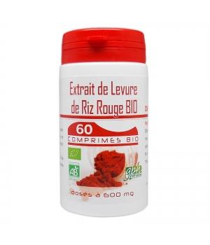 Levure de Riz rouge 600mg 60 comprimés - GPH Diffusion