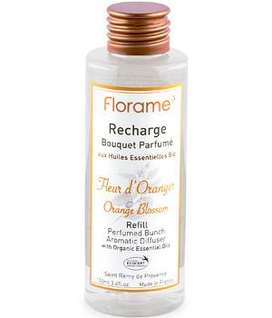 Recharge Bouquet parfumé Fleur d'Oranger - Senteurs d'intérieur Florame
