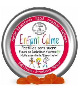 Pastilles aux Fleurs de Bach Enfant Calme - Elixirs & Co