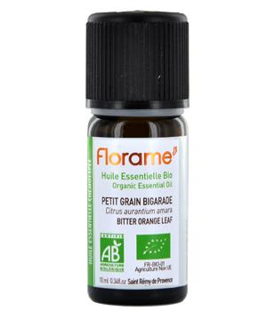 Huile essentielle bio Petit grain (Orange Amère) - Florame