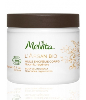 Huile en Crème Corps Argan - Melvita
