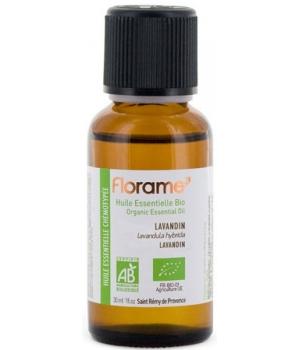 Huile essentielle bio Lavandin 30 ml - Florame lavande hybride Aromatic provence