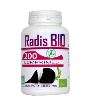 Radis Noir Bio 400mg - GPH Diffusion