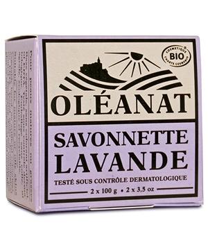 Duo de Savonnettes bio Lavande - Oléanat