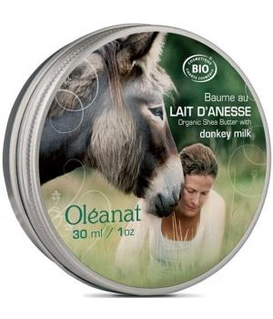 Baume au lait d'ânesse régénérant 30 ml - Oleanat