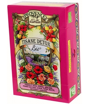 Tisane Detox bio recharge - Provence d'Antan