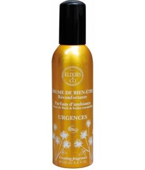 Brumes de bien-être URGENCE Réconfortante 100 ml - Elixirs & Co Aromatic provence