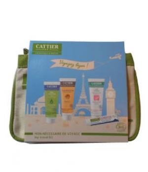 Trousse Mon nécessaire de voyage 4 produits - Cattier