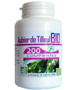 Aubier de Tilleul bio 400mg 200 comprimés - GPH Diffusion