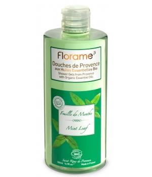 Gel Douche de Provence Feuille de Menthe 500 ml - Florame