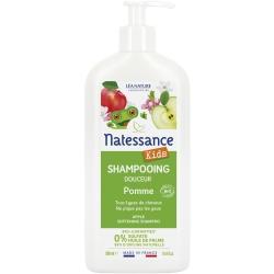 Shampooing Douche Kids Pomme sans sulfates - Natessance