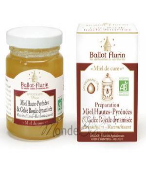 Miel de cure - Miel & Gelée Royale fraîche - Ballot-Flurin