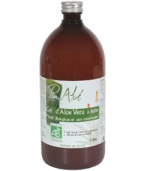 Gel bio d'Aloe Vera à boire 1 litre - Pur Aloe