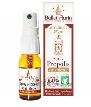 Spray propolis sans alcool - 15ml Ballot-Flurin