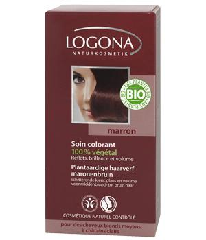 Soin Colorant Marron - Logona