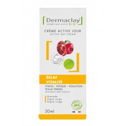 Crème Active Jour Eclat Vitalité 50ml Dermaclay
