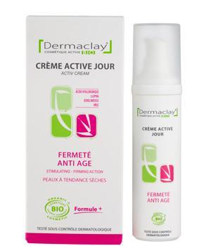 Crème de jour Hydratation Fermeté 50ml Dermaclay