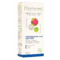 Crème intensive nuit Relaxante Régénérante 50ml Dermaclay