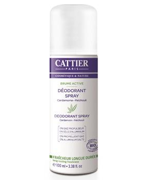 Déodorant spray bio Brume Active - Cattier