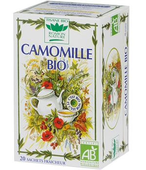 Tisane Camomille bio - Romon Nature