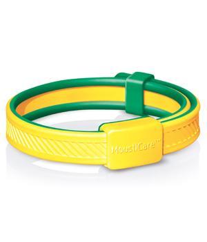 Bracelet anti-moustiques Protection naturelle Jaune/Vert - MoustiCare®