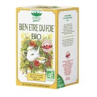 Tisane bien-être du foie bio, 20 sachets marque Romon Nature Aromatic provence
