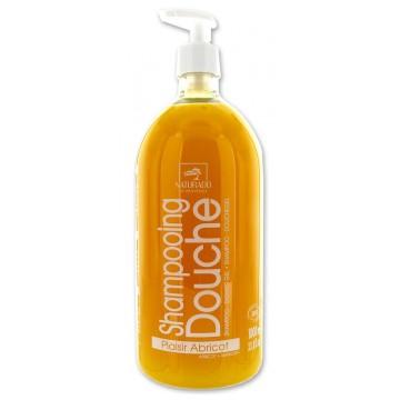Shampooing Douche Plaisir Abricot 1L - Naturado