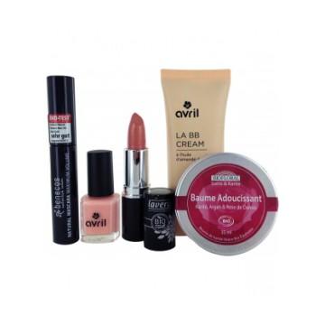 Coffret make-up de journee Avril Lavera Boho Green Benecos