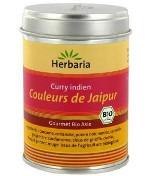 curry indien couleurs de jaipur marque herbaria. Black Bedroom Furniture Sets. Home Design Ideas