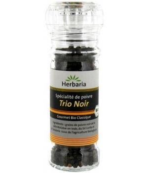 Herbaria - Moulin à épices Trio noir