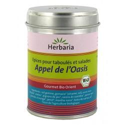 Herbaria - Appel de l'Oasis, Epices pour taboulés et salades