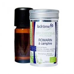 Huile essentielle bio Romarin Camphré - Ladrôme